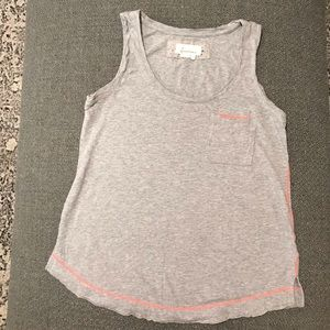 SOLD Anthropologie Heather gray tank SOLD